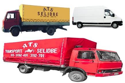 Kamionske i kombi selidbe Beograd
